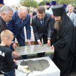 Освящение закладного камня Морского Собора