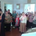 Пасхальное Богослужение в поселке Шаромы