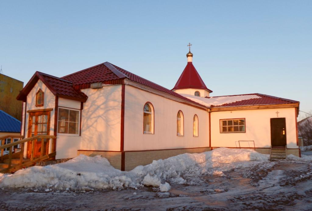 Храм Святого Пантелеимона - Камчатка - Мужской Монастырь