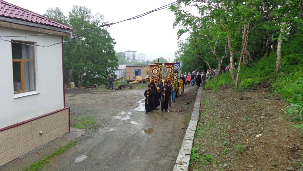День памяти Равноапостольного князя Владимира - Крестный ход - Камчатка