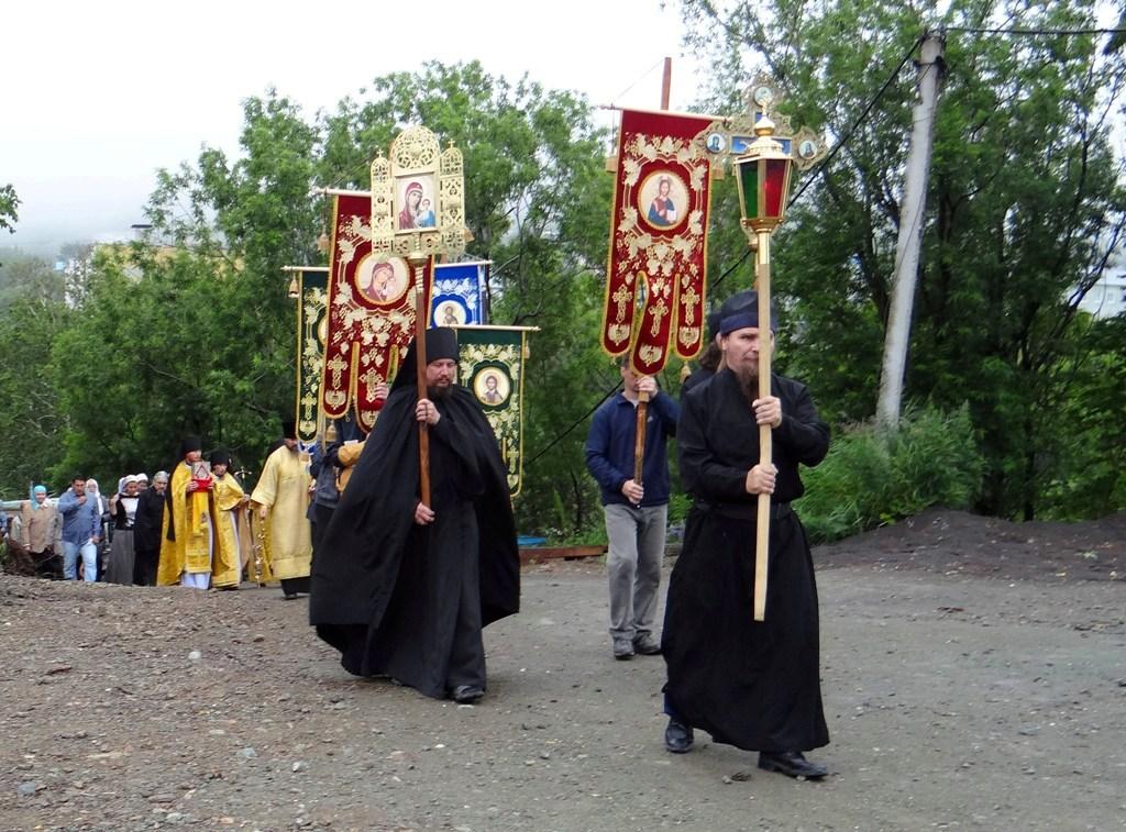 Крестный ход - Камчатка - День памяти Равноапостольного князя Владимира
