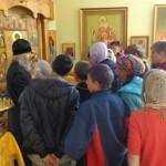 Работа с детьми трудового лагеря «Солнышко»