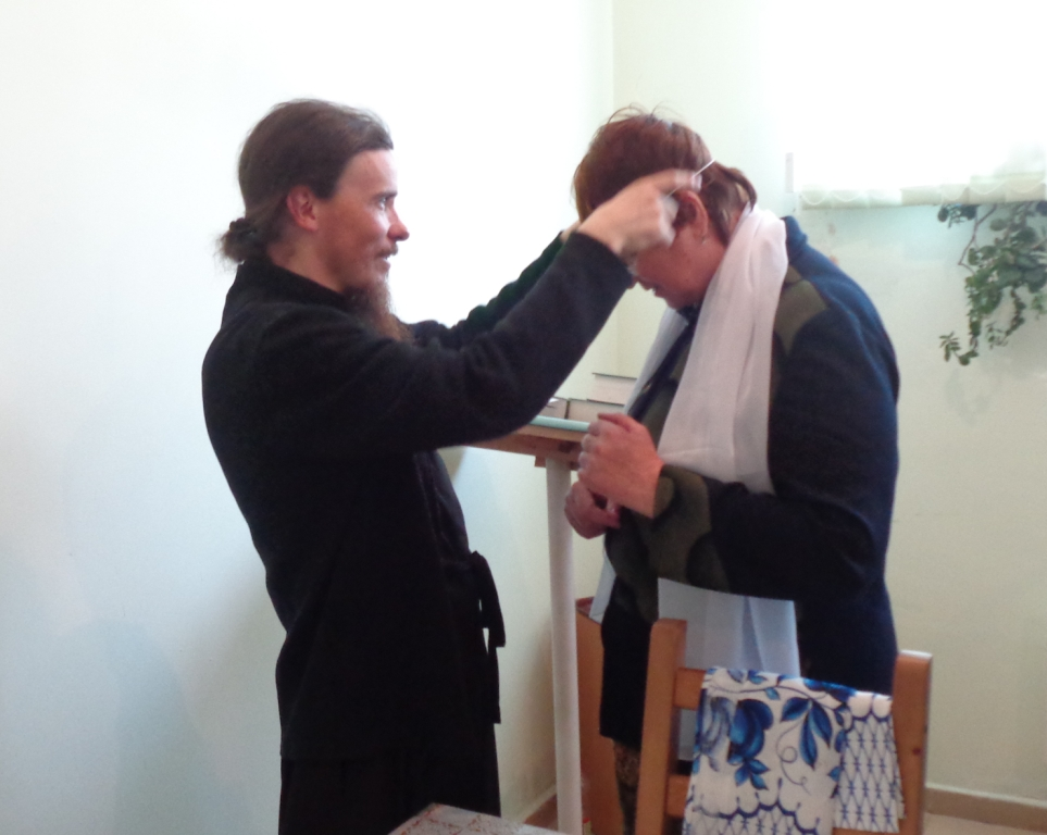 """Монастырь посетила группа из центра социальной помощи """"Вдохновение"""""""