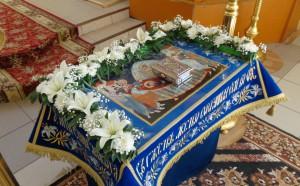 Чин погребения Пресвятой Богородицы в Свято-Пантелеимоновом монастыре