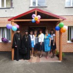 Освящение социального центра «Надежда»