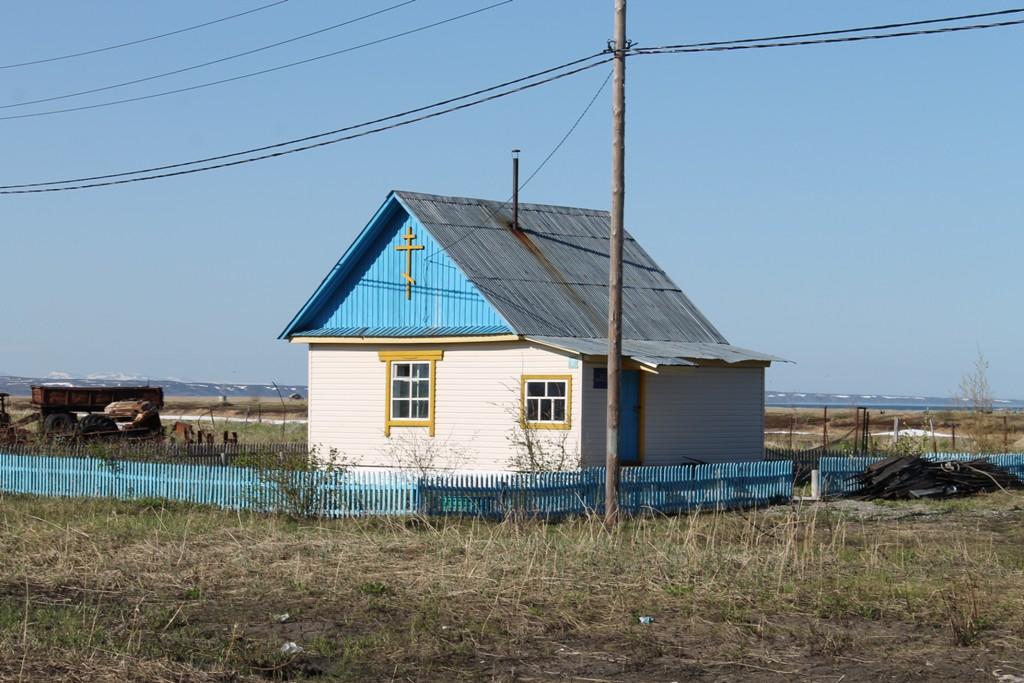Молебный дом в селе Карага