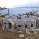 1 год с начала строительства Камчатского Морского Собора