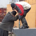 Монастырский труд — День за днём