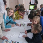 Воскресная школа для семей из Донбасса