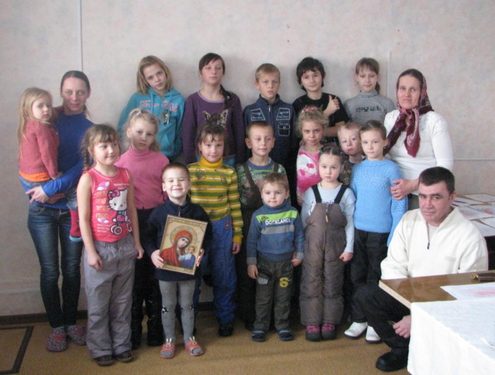Первый урок новой воскресной школы