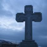 Освящение Креста в память об экипаже «Аметиста»
