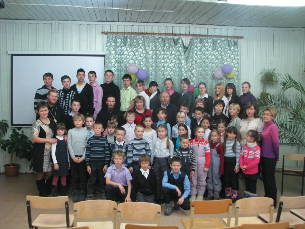 Учащиеся школ Мильковского района на встрече с миссионерами