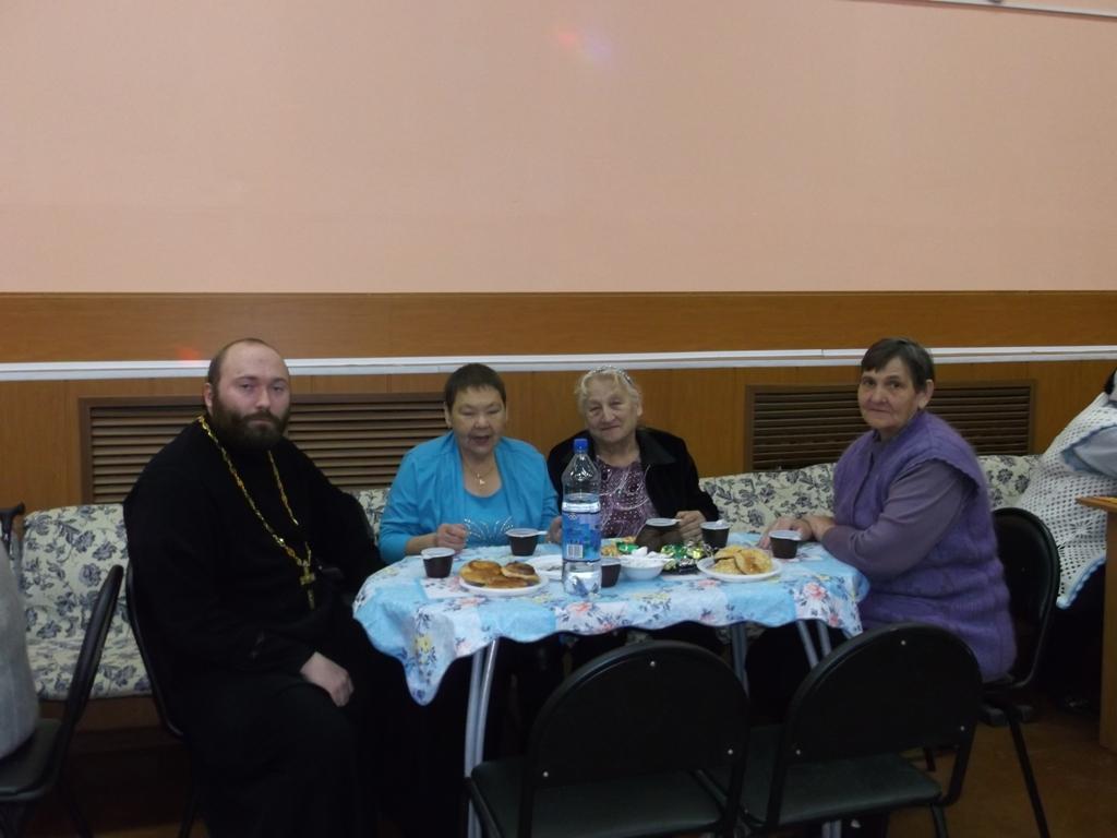 День пожилого человека в РДК с. Соболево