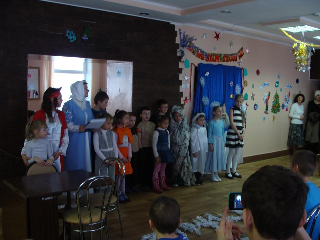 Выступление учащихся воскресной школы