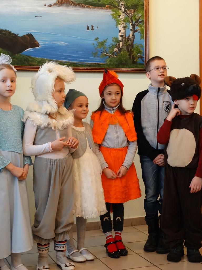 Праздничное представление Воскресной школы