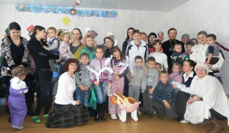 Рождественский Праздник в воскресной школе на Командорской