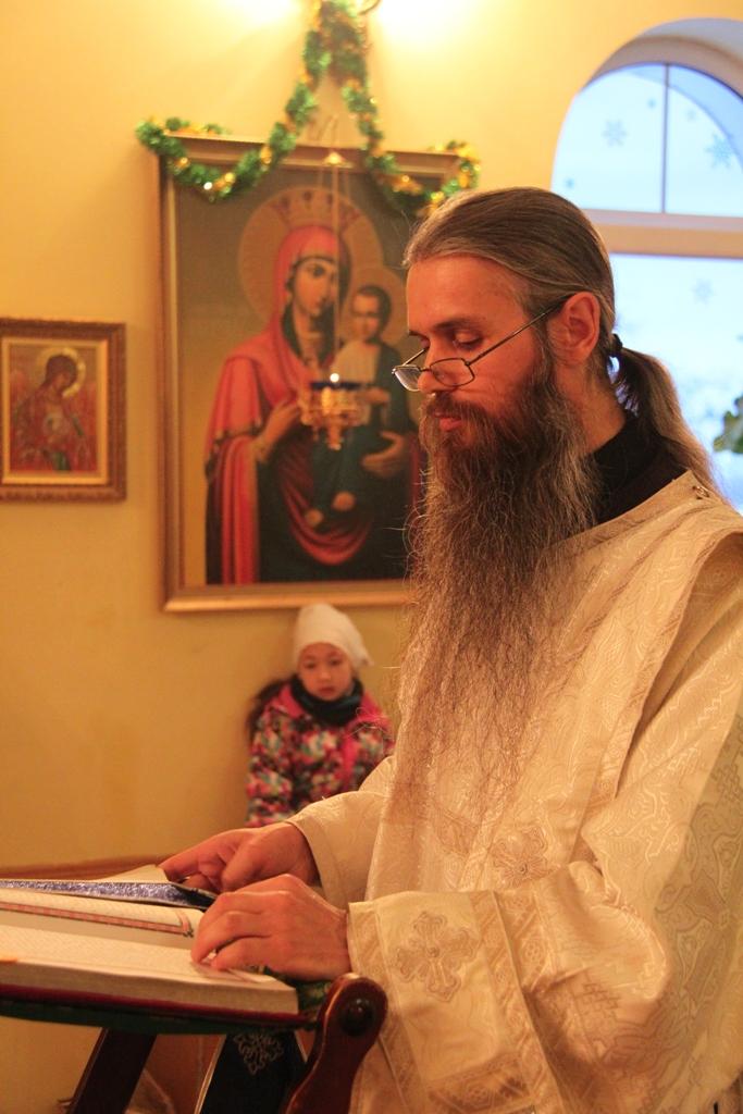 Архиерейское богослужение в Неделю по Рождестве