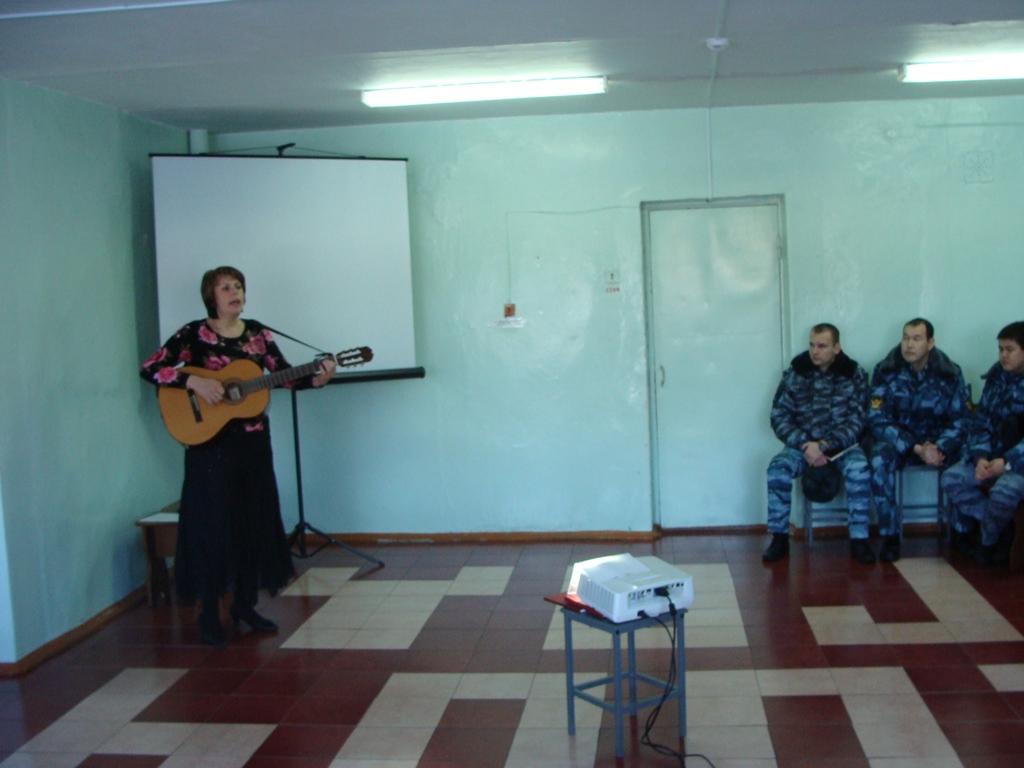 Выступление в женской колонии с. Мильково