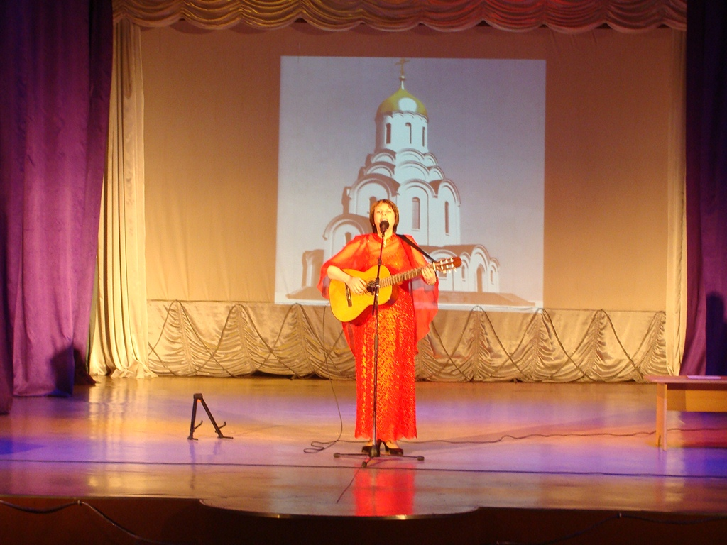 Концерт в п. Ключи