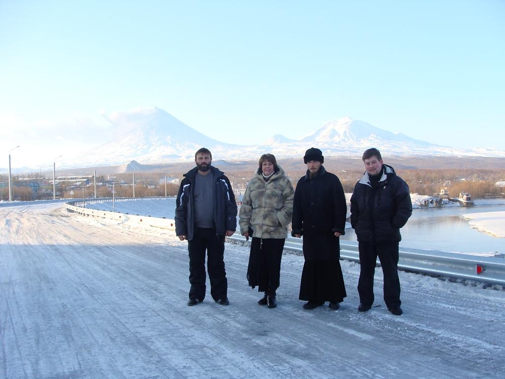 Лилия Евсеева и команда миссионеров