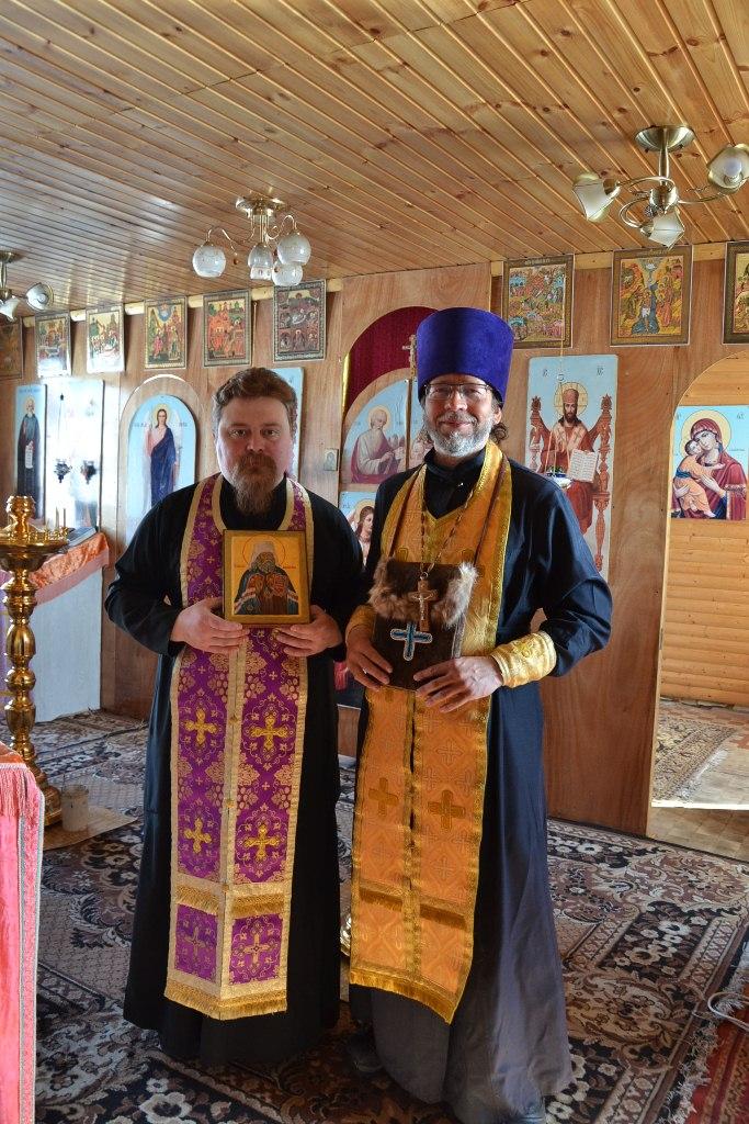 Беренгия-2015. Встреча иконы с мощами Святителя Иннокентия Московского