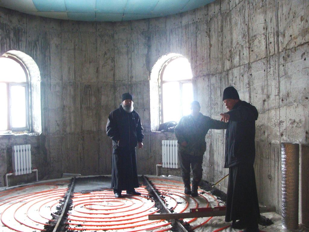 Внутренние работы в Храме святого князя Владимира