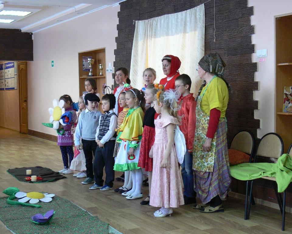 Пасха в детском доме