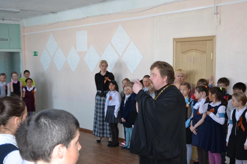 Поздравление учащихся школы п.Оссора с Днём Победы