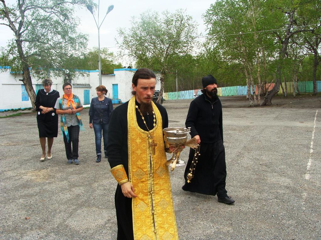 """Освящение лагеря """"Восход"""""""