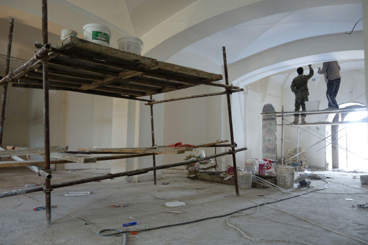 Внутренняя отделка Свято-Владимирского храма