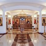 Освящение нижнего храма Камчатского Морского Собора
