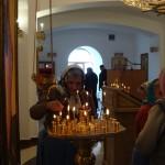 Подопечные Авачинской больницы на воскресной службе в Морском Соборе
