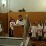 Крещение воспитанников детского дома