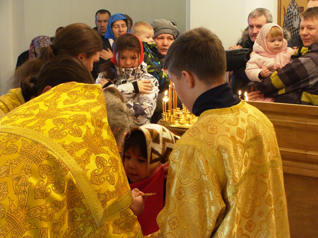 Воспитанники Детского дома №2 - новые прихожане Камчатского морского собора