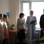 Рождественский утренник в центре переселенцев из Донбасса.