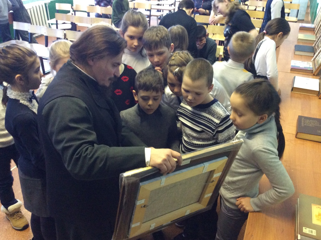 Рассказ о картине житие Св. Сергия Радонежского