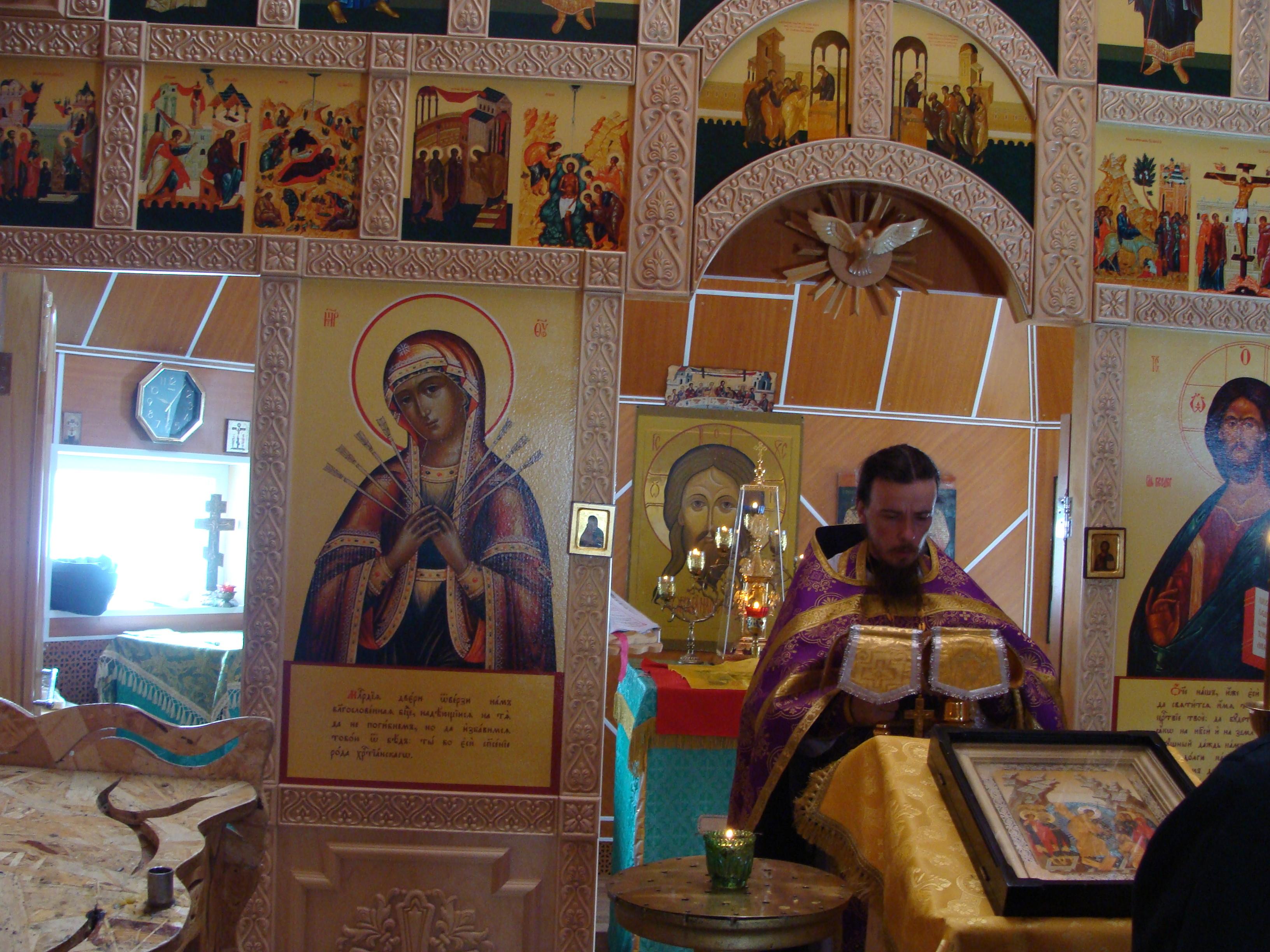 День памяти преподобного Иоанна Лествичника в Скиту