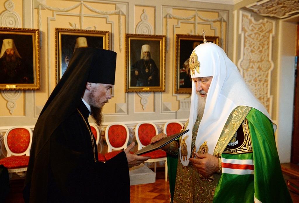 Игумен Феодор (Малаханов) возведен в сан архимандрита и наречен во епископа Вилючинского, викария Петропавловской и Камчатской епархии