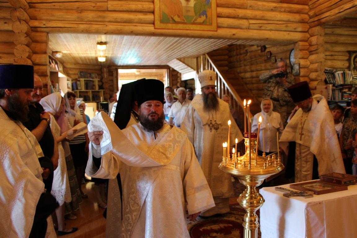 Освящение храма в поселке Эссо
