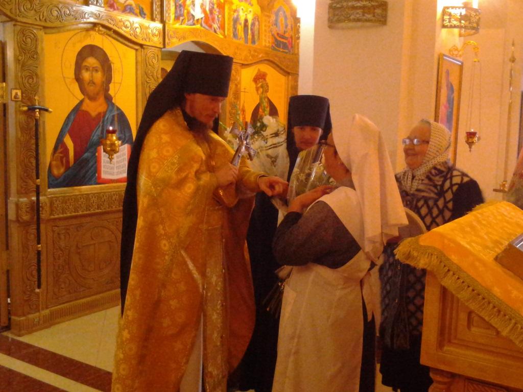 Богослужение в Морском соборе в праздник святого праведного Феодора Томского