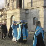 Чин Погребения Плащаницы Пресвятой Богородицы в Морском Соборе
