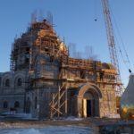 Продолжается возведение храма-памятника  Морского Собора на территории Свято-Пантелеимонова мужского монастыря