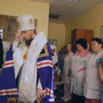 Крещенское освящение в краевой больнице