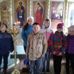 В поселке Тигиль в пасхальные дни в храме провели экскурсию для детей.