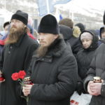 Епископ Вилючинский Феодор принял участие в митинге памяти погибших при взрыве в метро Санкт-Петербурга