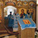 Епископ Феодор совершил Божественную Литургию в праздник Благовещения Пресвятой Богородицы в Камчатском Морском Соборе