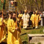 Престольный праздник в скиту Свято-Пантелеймонова мужского монастыря