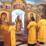 Воскресная литургия в Свято-Пантелеймоновом монастыре