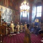 Епископ Вилючинский Феодор  принял участие в богослужении в Преображенском соборе Новоспасского монастыря