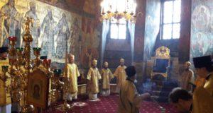 Преображенский собор Новоспасского кремля